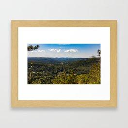 High Ledge Vista Framed Art Print