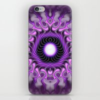 third eye iPhone & iPod Skins featuring Third Eye by Keila Neokow