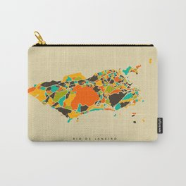 Rio map Carry-All Pouch