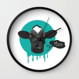 Moo Cow Moan Wall Clock