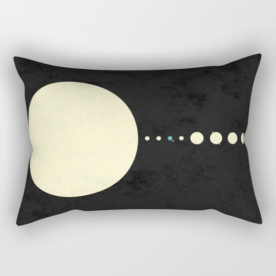 HOME IN THE SOLAR SYSTEM Rectangular Pillow