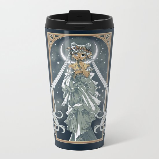 The Moon and Stars Metal Travel Mug