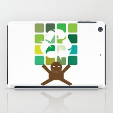 green world iPad Case