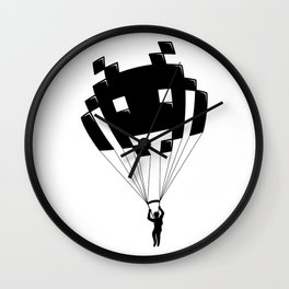 Invader Wall Clock