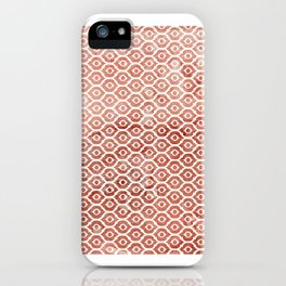 Mandarin Trellis Pattern iPhone Case