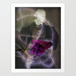 The Truth is a Flower Art Print