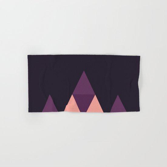 Geometric Pyramid Hand & Bath Towel