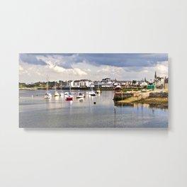 Irvine Harbour Metal Print
