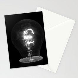 Light Bulb Moments B&W Stationery Cards