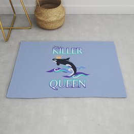 She's a Killer Queen Rug
