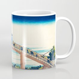 Tardis At The Bridge Coffee Mug