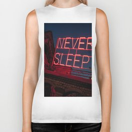 Never Sleep Biker Tank