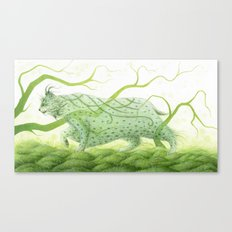 The West Wind Canvas Print