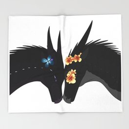 Wings of Fire - Dragon Flame Throw Blanket