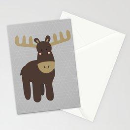 Edward the Moose Stationery Cards