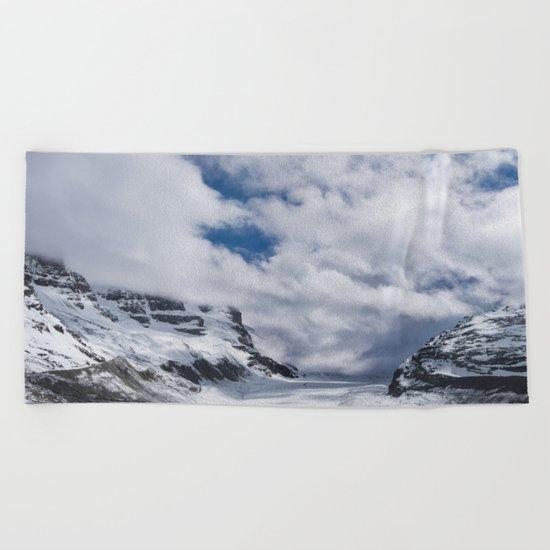 Jasper Glacier Beach Towel