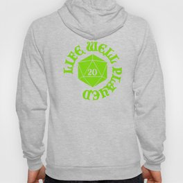 d20 Life Well Played Crit Hoody