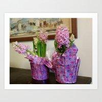Hyacinth Art Print