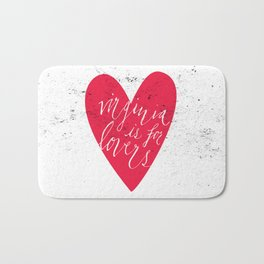 Virginia is for Lovers Bath Mat
