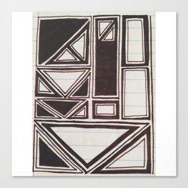 Squares Squared  Canvas Print