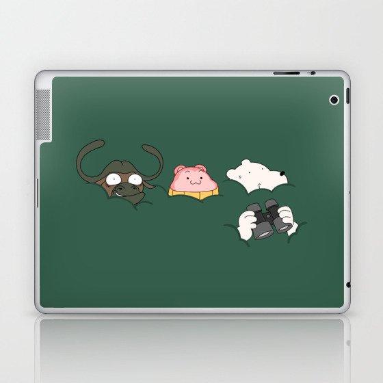 In the bush (Peepoodo) Laptop & iPad Skin