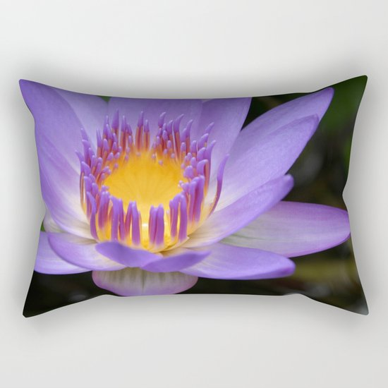 My Soul Dressed in Silence Rectangular Pillow