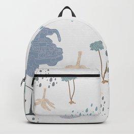 Light Blue - YangTia's Life Backpack