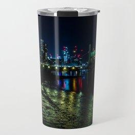 Night at the Docks Travel Mug