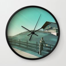 Waiting for You (Summer Version) Wall Clock