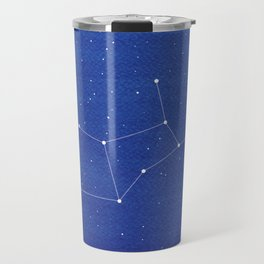 Virgo Constellation, Mountains Travel Mug