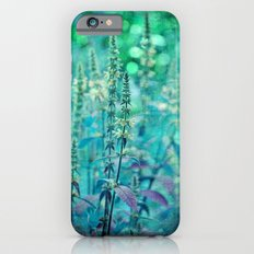 Textured Purple Loosestrife Slim Case iPhone 6