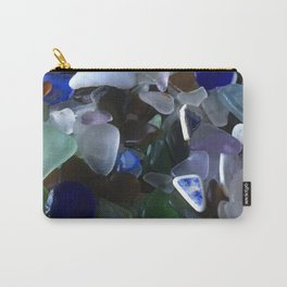 Sea Glass Assortment 4 Carry-All Pouch