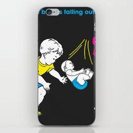 Catching Babies iPhone Skin