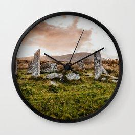 Derreenataggart Stone Circle Wall Clock