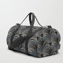 Dark butterfly effect pattern Duffle Bag
