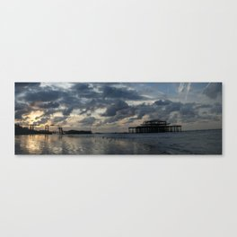 Brighton's West Pier Canvas Print