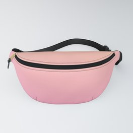Peach pink ombre Fanny Pack