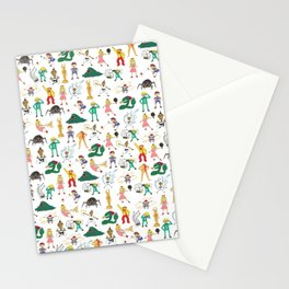 Name These Kids Stationery Cards