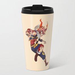 Angry Natsu 3 Travel Mug