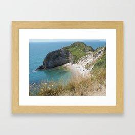 Durdle Door, Dorset, Photo 1 Framed Art Print