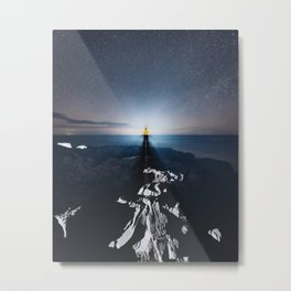 Projecting on the Horizon Metal Print