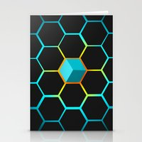 technology Stationery Cards featuring Technology hive by JW's art
