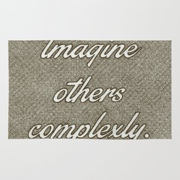 Imagine Others Complexly Rug