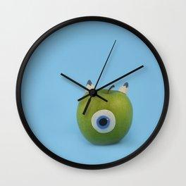 Wazowski apple Wall Clock