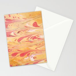 Yellow Marble Stationery Cards