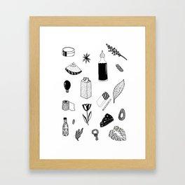 things i like on the market Framed Art Print