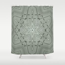 Bamboo Star Shower Curtain