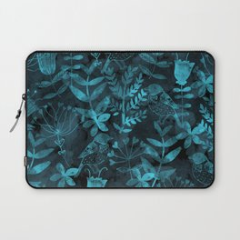 Watercolor Floral & Birds IV Laptop Sleeve