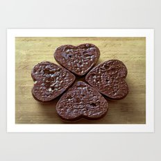 Good luck cookies Art Print