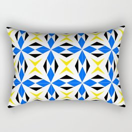 symetric patterns 9 -mandala,geometric,rosace,harmony,star,symmetry Rectangular Pillow